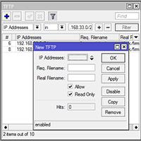 MikroTik TFTP